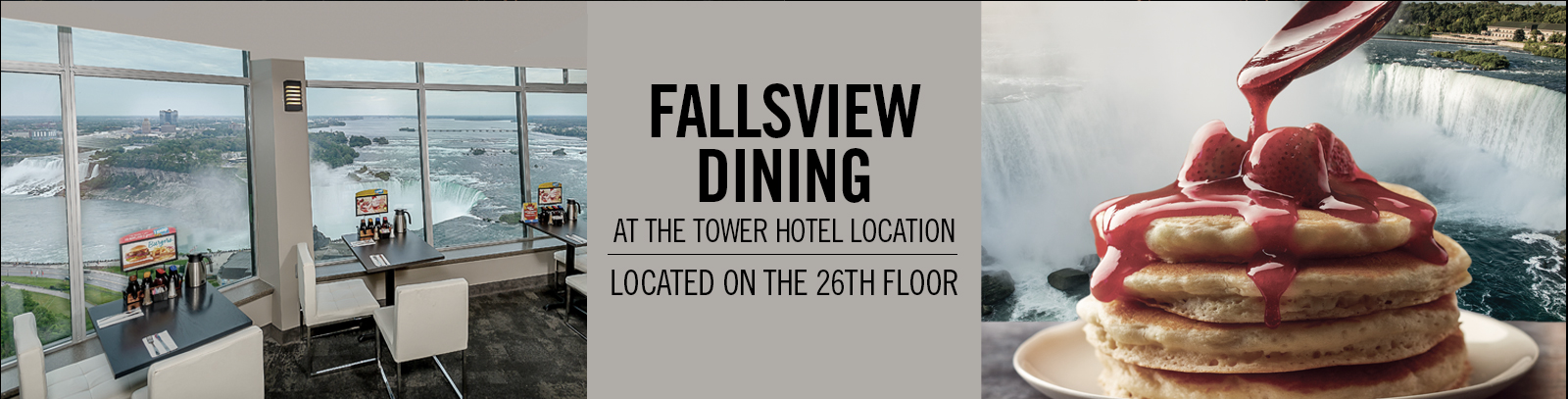 Fallsview Dining at the Tower Hotel Location - IHOP Restaurant Niagara Falls